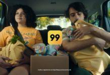 Campanha da 99 provocando o Uber.