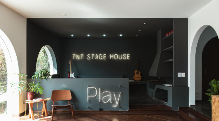 TNT Energy Drink Stage House