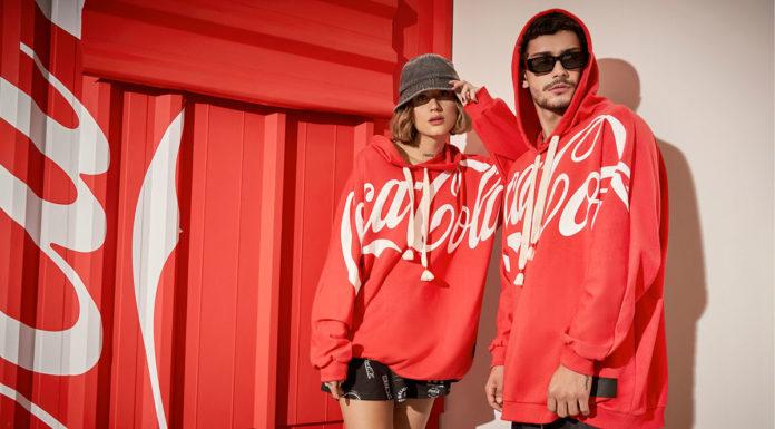 Coleção da Colcci com Coca-Cola.