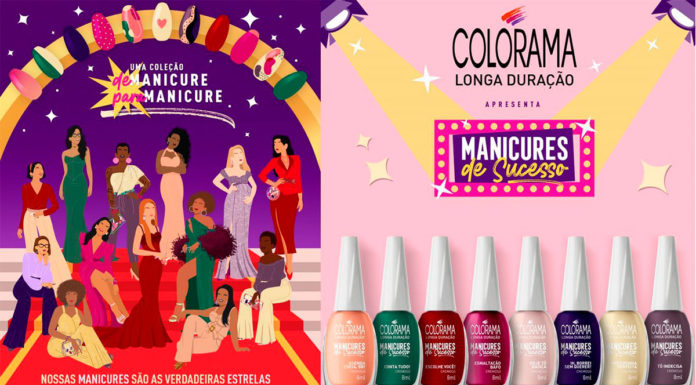 Coleção Manicures de Sucesso da Colorama.