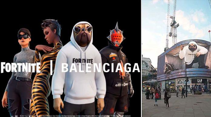 Balenciaga x Fortnite