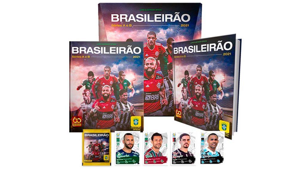 Álbum de figurinhas Brasileirão 2021 Editora Panini