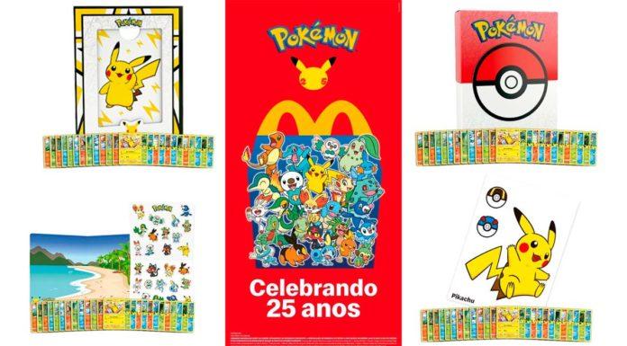 McDonald's traz McLanche Feliz com Pokémon TCG