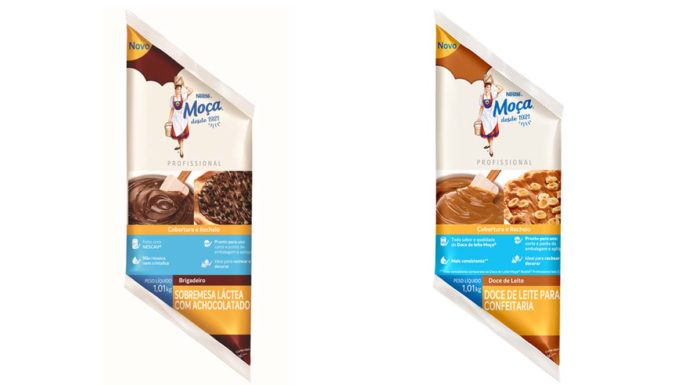 Nova embalagem para profissionais Nestlé