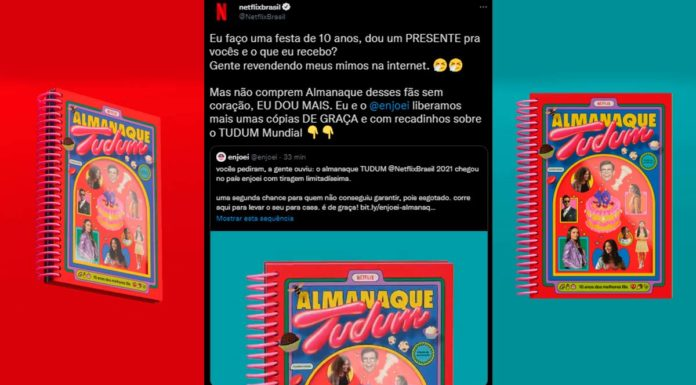 Netflix e Enjoei lançam nova tiragem do Almanaque Tudum