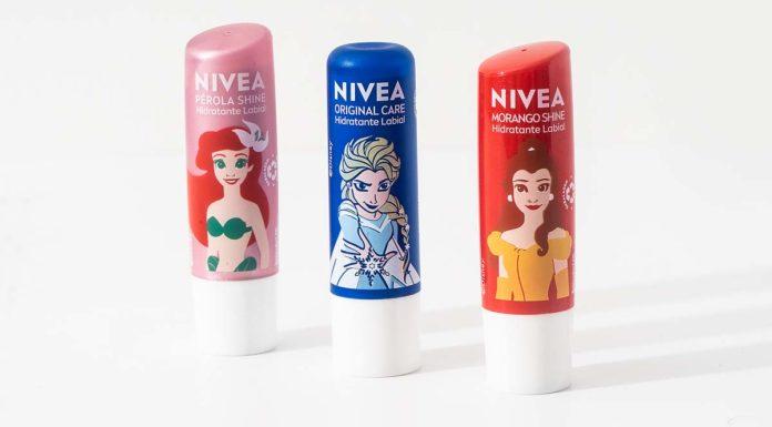 Hidratantes Labiais Nivea Princesas Disney
