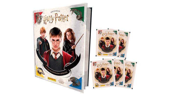 Álbum de figurinhas Harry Potter da Editora Panini