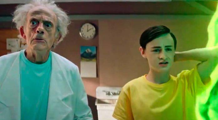 live-action de Rick and Morty com Christopher Lloyd