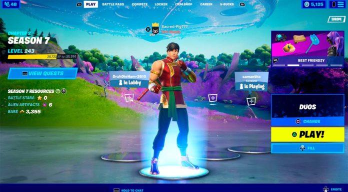 Shang-Chi skin no Fortnite