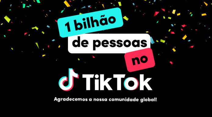TikTok atinge um bilhão de usuários ativos por mês