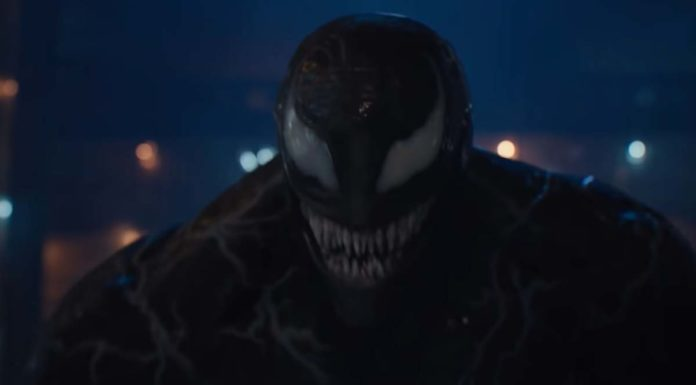 Print de um trecho do trailer de Venom