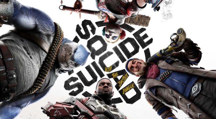 Arte oficial jogo Esquadrão Suicida: Mate a Liga da Justiça