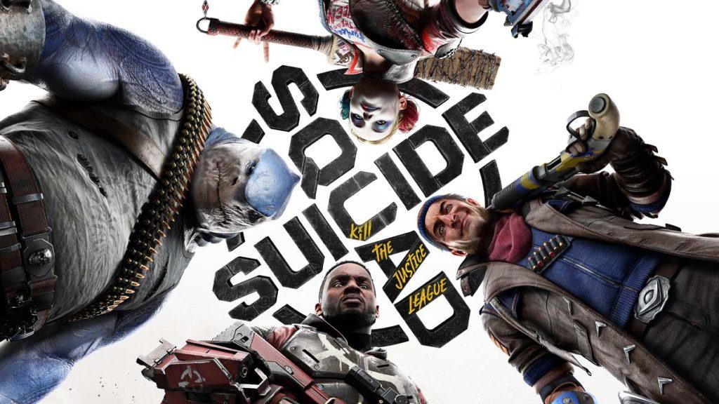 Warner Bros jogo Esquadrão Suicida arte oficial