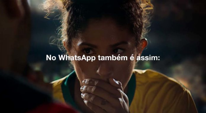 WhatsApp campanha mostra privacidade do app com jogadores de futebol