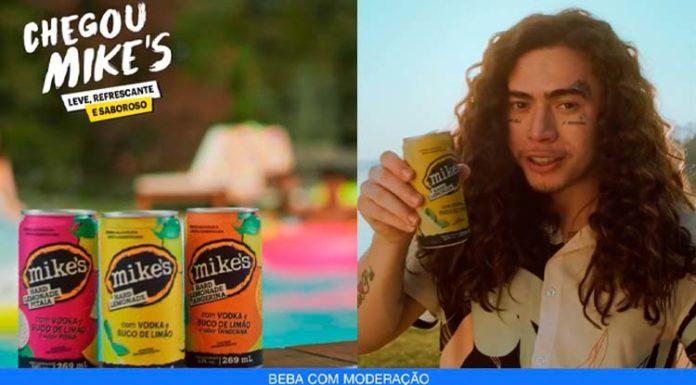 Whindersson Nunes em campanha para Mike's Hard Lemonade