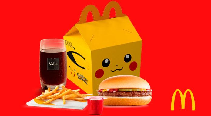 McDonald's anuncia retirada de ingredientes artificiais do McLanche Feliz.