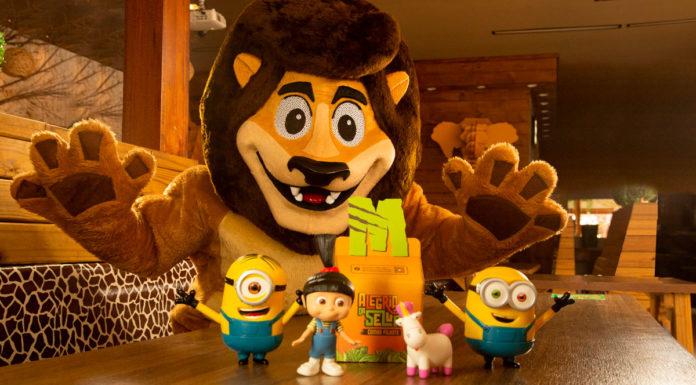 Minions no combo Alegria da Selva do Mundo Animal.
