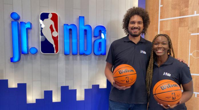 Curso de capacitação da NBA.