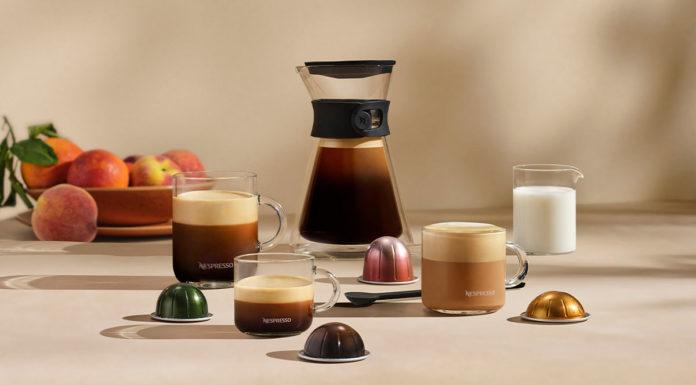 Novo café em cápsula de 535ml da Nespresso.