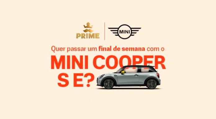 Ação do Rappi com MINI Cooper S E.