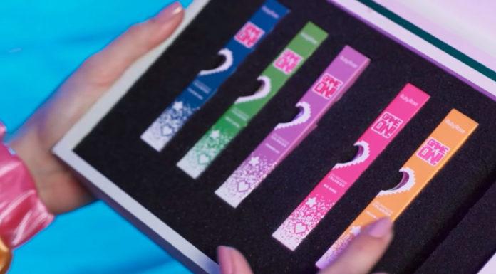 Coleção da Ruby Rose de delineadores com jogo.