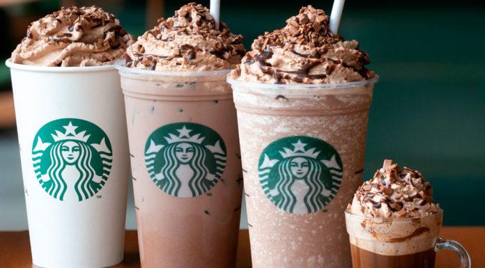 Cafés Triplo Brigadeiro da Starbucks.