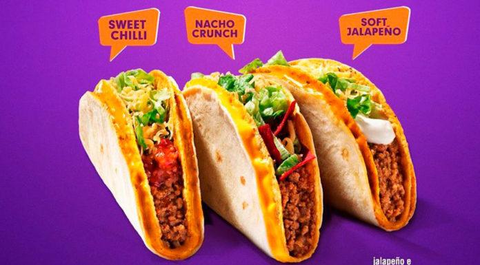 Power Tacos da Taco Bell.