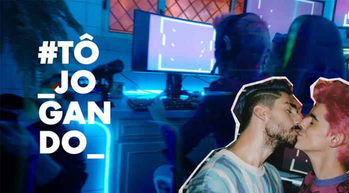 Jean Luca na campanha do Tinder com música tema de Anunciação.
