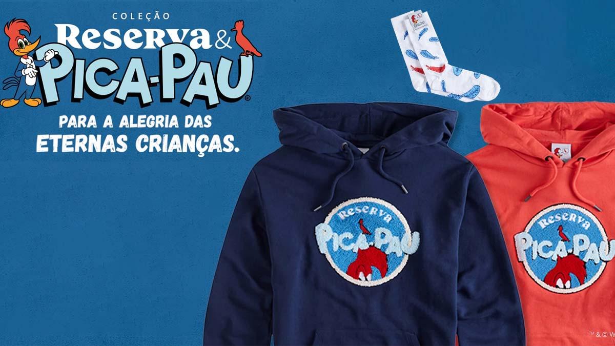 Reserva coleção Pica-Pau