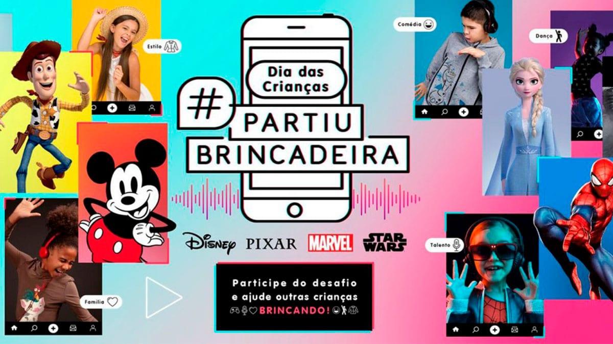 Remix da Disney com Dennis DJ.